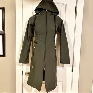 LOTUSWEAR Long Rain Fleece Lined Jacket Coat